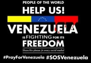 #sosvenezuela #prayforvenezuela