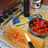 Spaghetti al Pomodoro tipo Pachino (quello a grappolo!)