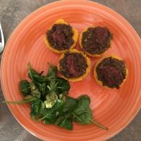 La cucina degli avanzi: Cestini di Polenta e Lenticchie (con cotechino per i carnivori).